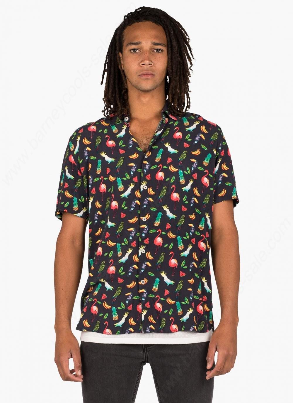 Barney Cools Man Holiday Shirts Aussie Summer - -0