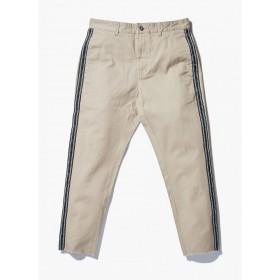 Barney Cools Mens B.relaxed Chino Taped Tan Crop Pants